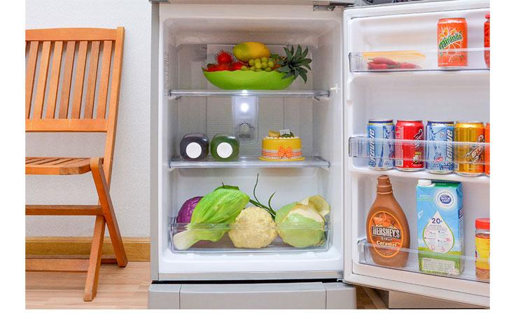 Tủ lạnh Panasonic NR-BJ188SSVN dung tích 167 lít phù hợp với gia đình 4-5 người