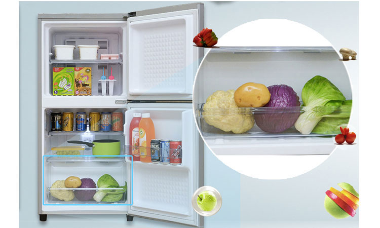 Tủ lạnh Panasonic NR-BJ188SSVN rau quả tươi xanh, ngon mát
